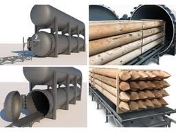 Автоклав для импрегнации древесины