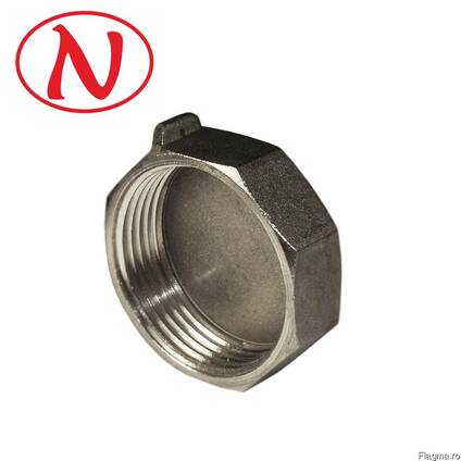 "Brass Cap for seal 1/2""F (Nikel) /HD"
