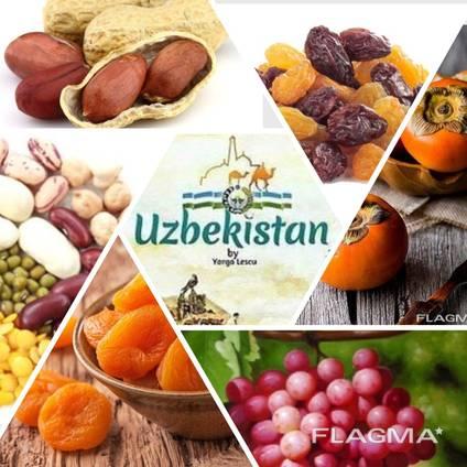 Dried fruits from Uzbekistan