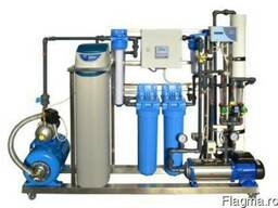 Modular water treatment systems on stainless frames - фото 1