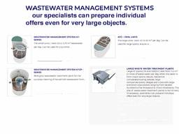 Patented wastewater treatment technology ( with certification from the european union). ..