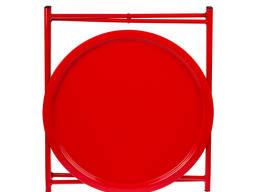 Складной стол, круглый, металлический. Folding Coffee Table