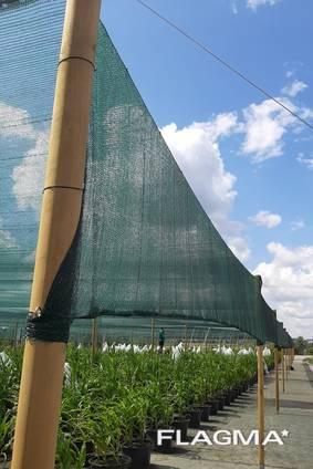 Теневая сетка - защита от непогоды для агроплощадок
