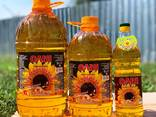 Unrefined sunflower oil - photo 2
